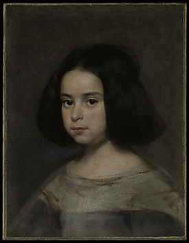 Velázquez Little Girl